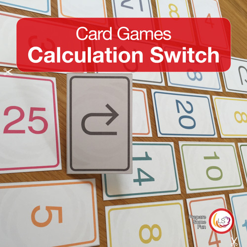 Calculation Switch Card Game