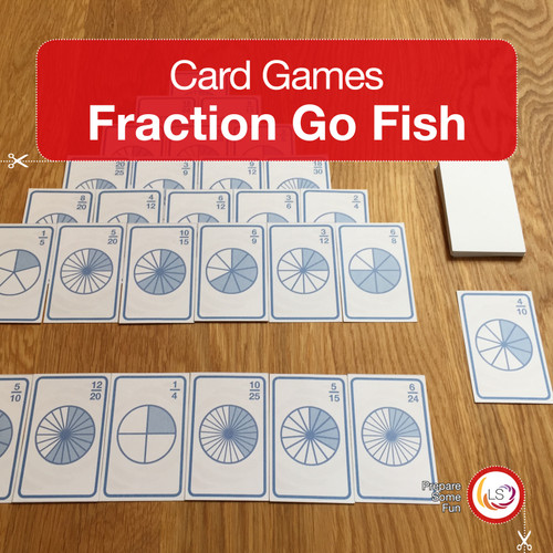 Fractions Card Game Cover