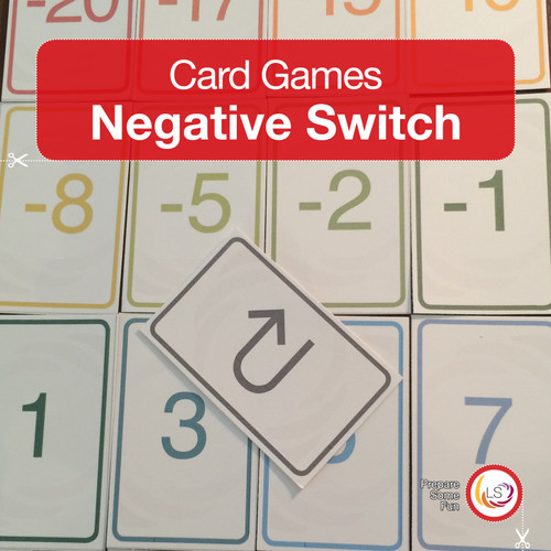 Negative Switch Card Game Cover