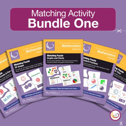 Matching Puzzle Bundle One Cover
