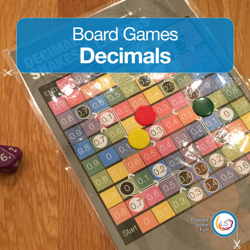 Decimal Snakes and Ladders Cover