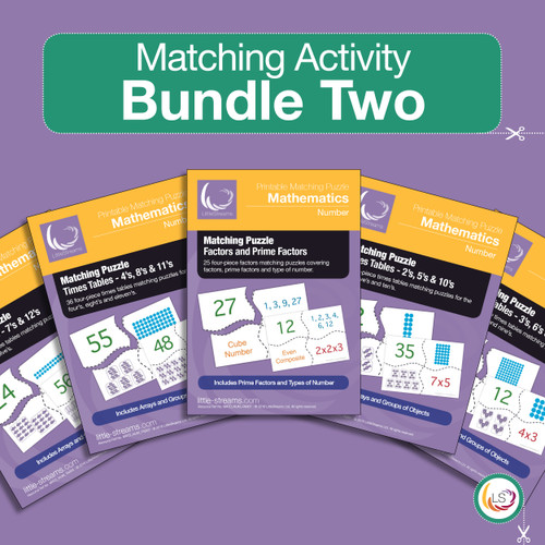 Matching Activity Bundle Two Cover
