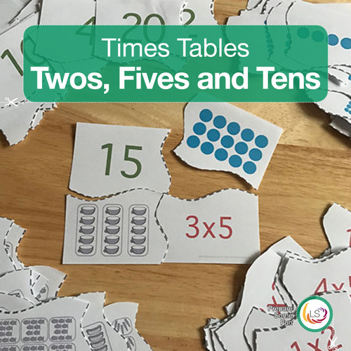 Twos, Fives and Tens Times Tables