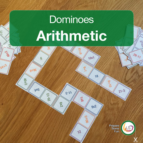 Arithmetic Dominoes Cover