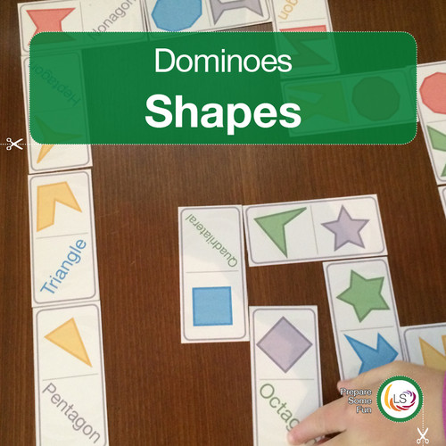 Shape Dominoes Cover