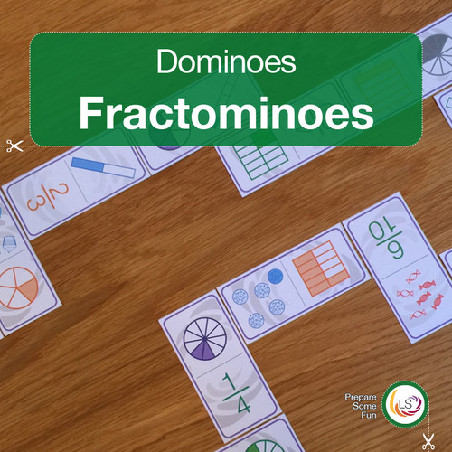 Fractominoes Equivalent Fractions Cover