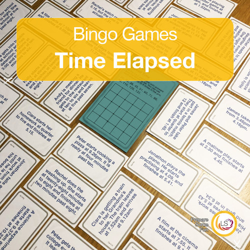 Time Elapsed Bingo Cover