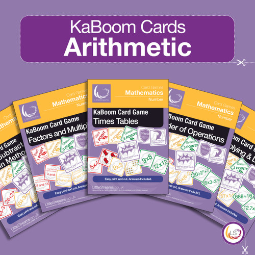 KaBoom Arithmetic Bundle Cover