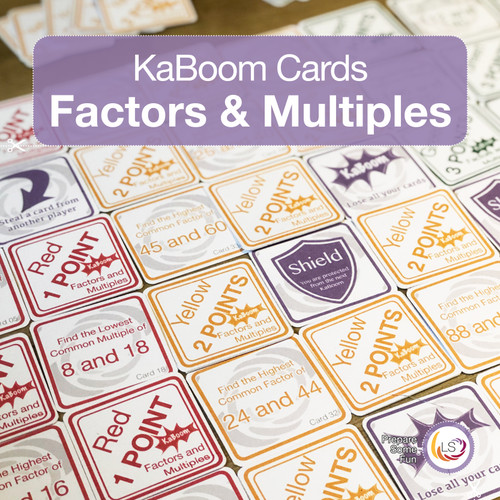 Factors and Multiples Cover