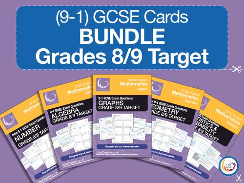 GCSE Grade 8/9 Cover
