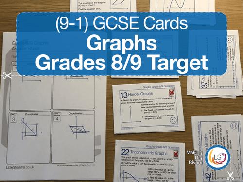 Graphs GCSE Grades 8/9 target