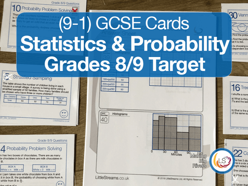 Statistics and Probability grade 8/9 target Cover