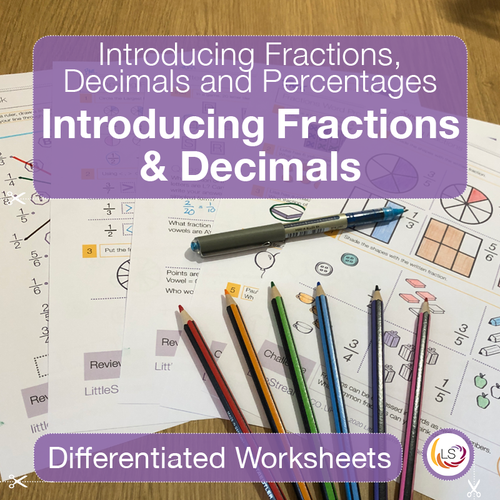 Front cover Introducing Fractions and Decimals