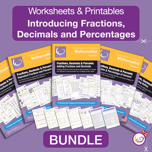Cover of Introducing Fractions, Decimals and Percentages Bundle