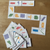 Example of the domino cards in action