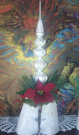 Poinsettia Finial