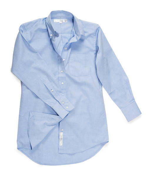 The His is Hers® Original Shirt in Light Blue Oxford