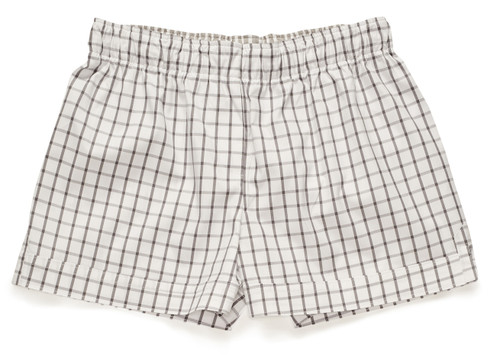 The Boxer in steel frame pinpoint. The color is a warm gray tone grid over white.