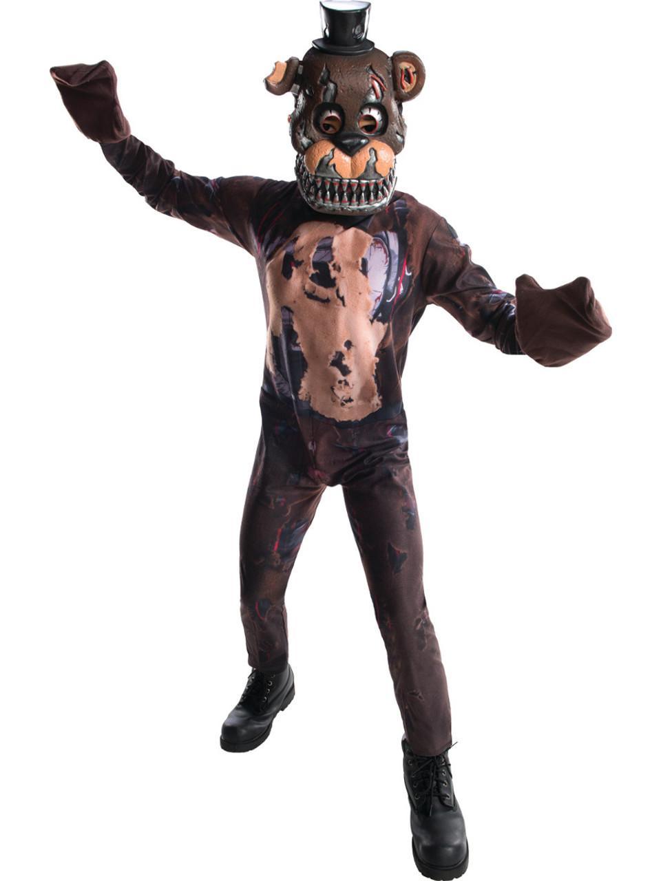 Five Nights At Freddy's 4 Nightmare Freddy Boy's Costume