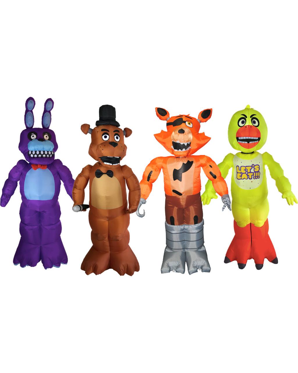 Five Nights At Freddy's Bonnie Animated five nights at freddy's all characters collectors animated yard decoration  bundle