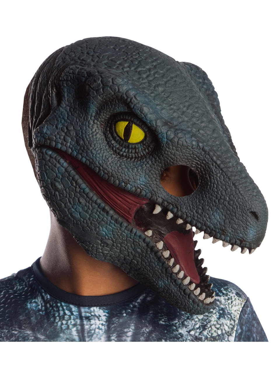 prix incroyable prix incroyables trouver le travail Jurassic World Blue Velociraptor Kid's 3/4 Mask