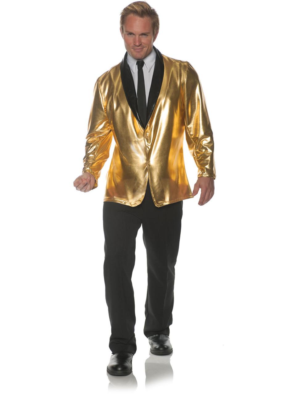 50s Mens Doo Wop Gold Jacket