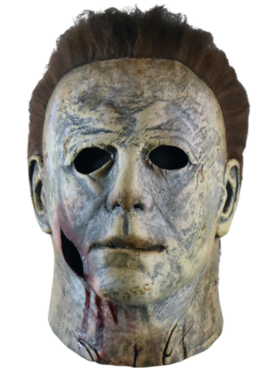 Halloween 2018 Michael Myers Face.Halloween 2018 Michael Myers Bloody Mask