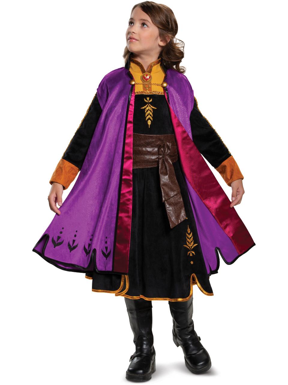 Frozen 2 Anna Prestige Girl's Costume