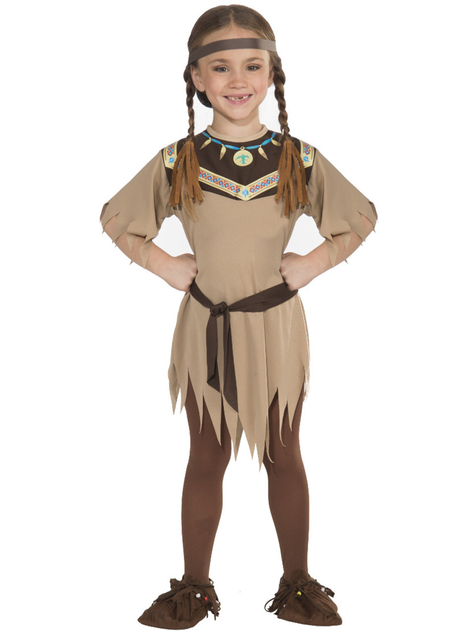 5efb4a4c6 Child Girls Native American Princess Indian Pocahontas Costume