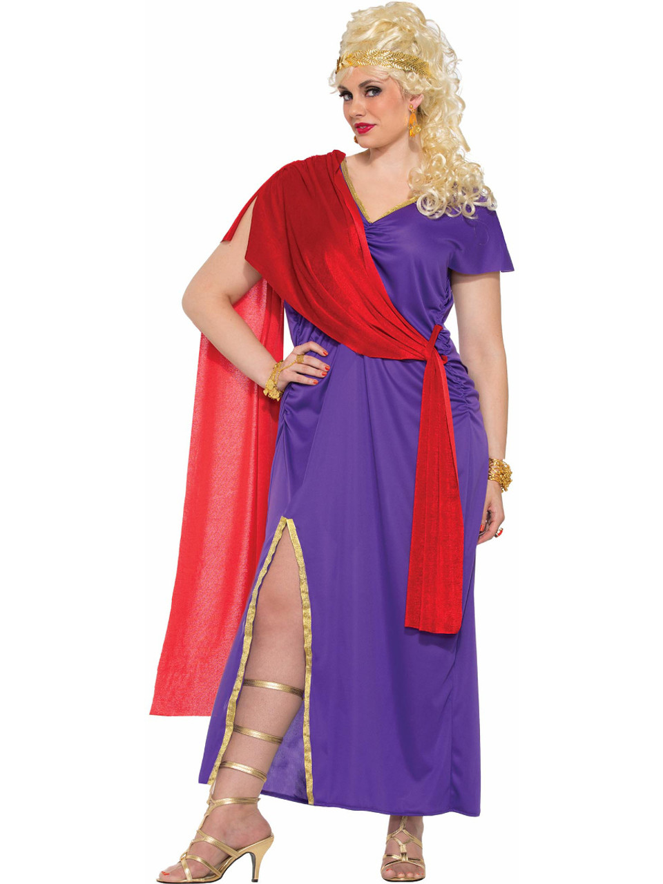 2bdc0e8440d Adult's Womens Roman Woman Goddess Dress Costume X-Large 18-22