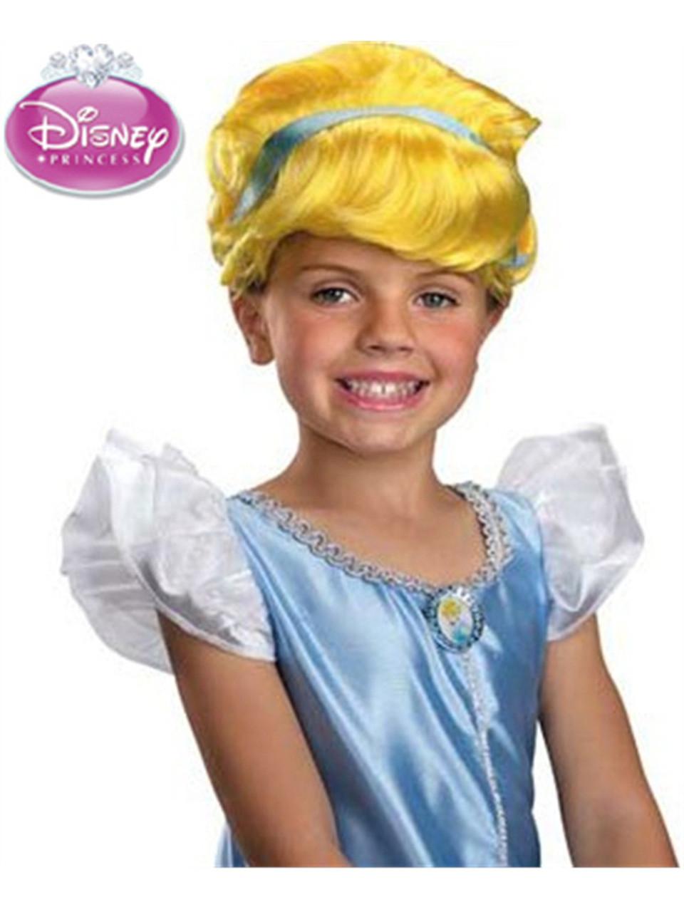 0c812c8f4fe6d9 Disney Princess Cinderella Child's Blonde Costume Dress Up Wig