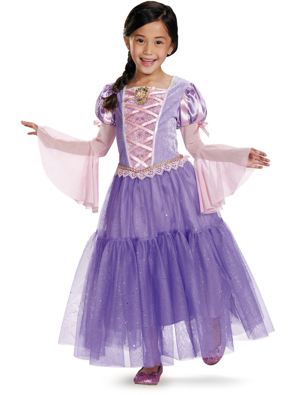 Deluxe Rapunzel Tangled Ball Gown