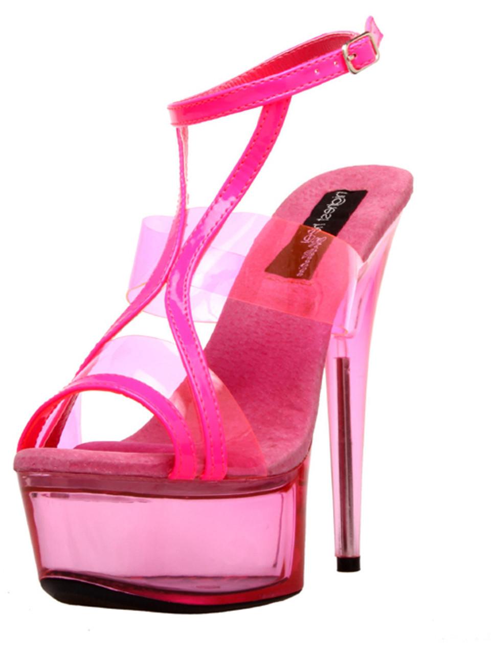 10f13f65491 Women's Highest Heel GLOW-111 6