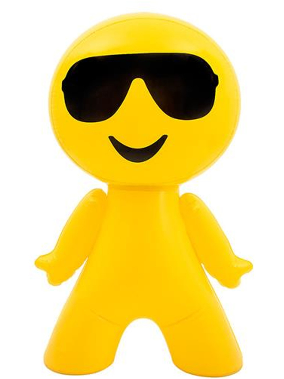 "27"" Inflatable Cool Sunglasses Guy Emoji"