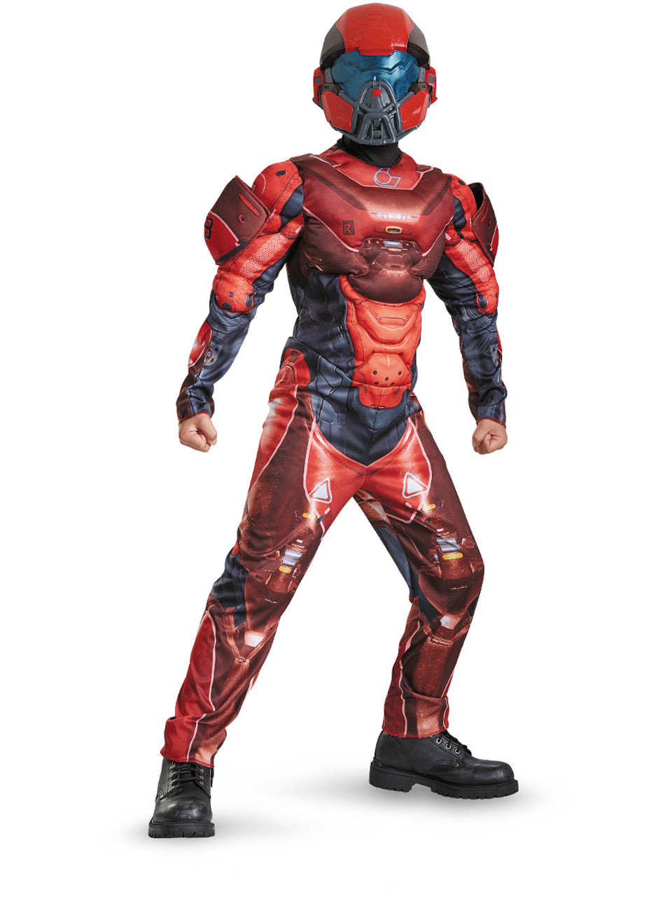 Boy S Halo Guardians Red Armor