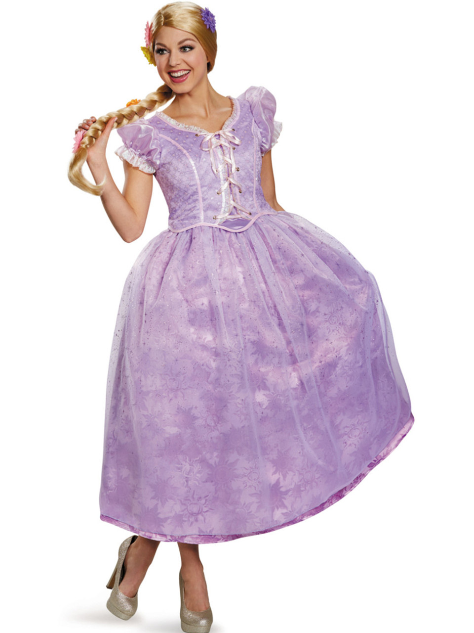 Women S Ultra Prestige Tangled Rapunzel Dress