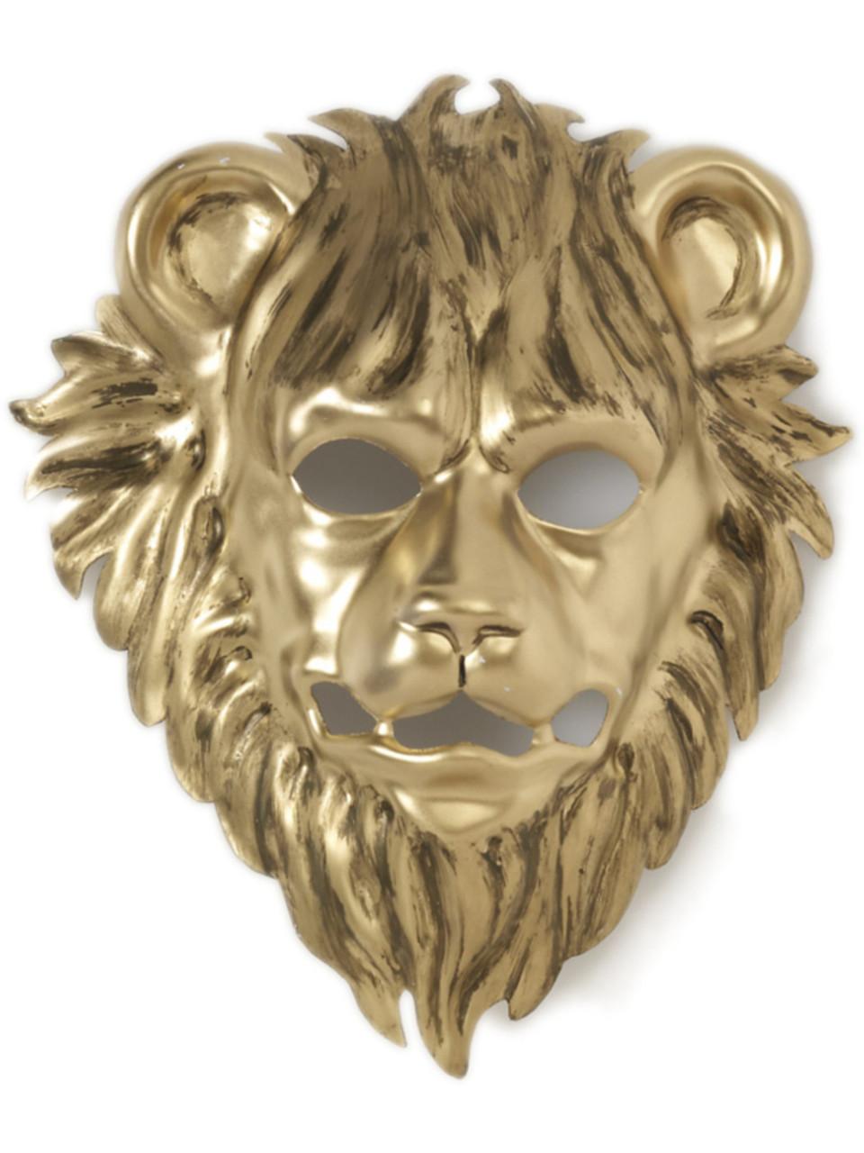 Gold Lion Mask