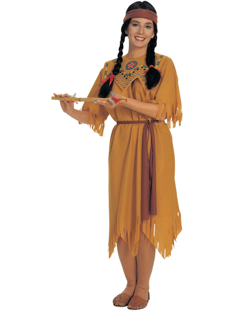 456bd7ef6 Adult Womens Classic Native American Indian Maiden Princess Value Costume