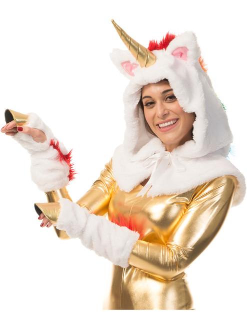 Womens Sassy Unicorn Wing Costume Kit