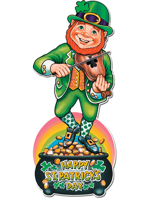 St. Patrick's Day Pot O' Gold Cut Out
