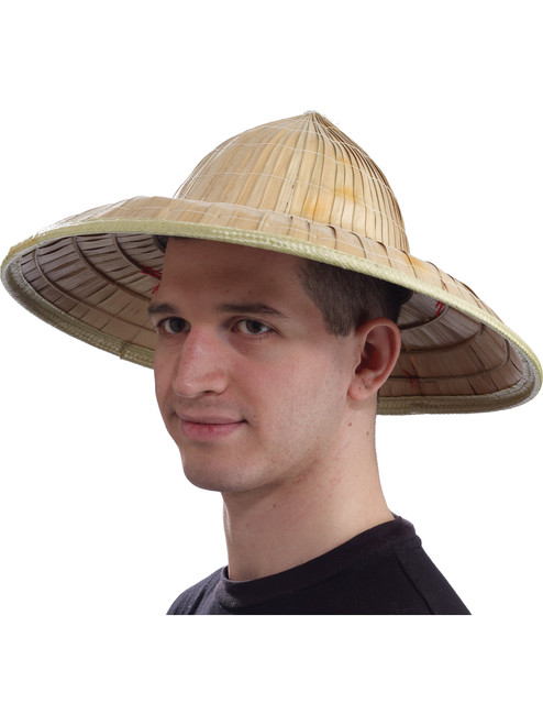 243d43321 Adult's Chinese Straw Hat