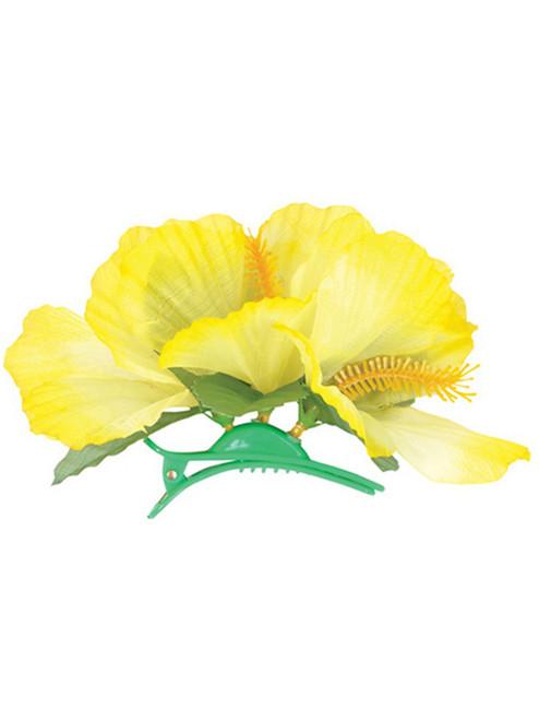Lot 12 New Assorted Luau Hawaiian Flower Hibiscus Costume Accessory Hair Clips