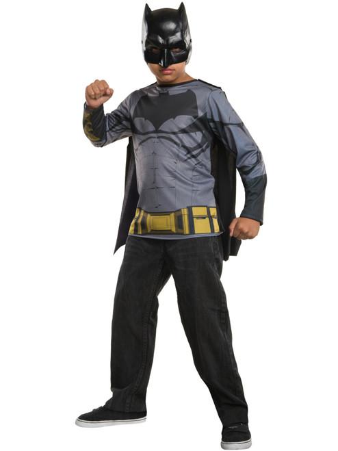 Superman Hoodie Child Boys Costume Size M Medium 8-10 NEW Batman v Superman