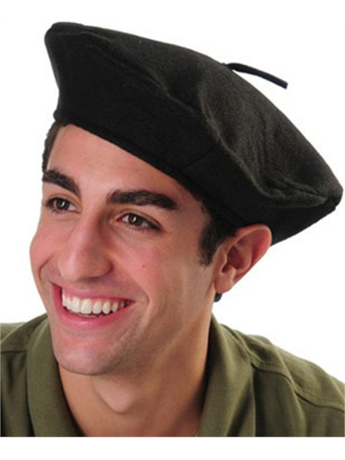 7d6280ce4 Mens Womens Black French Beret Artist Costume Hat