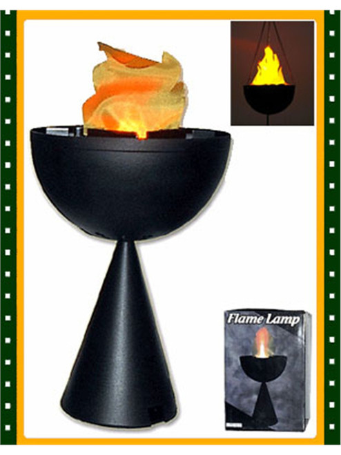Blazing Fire Flame Light Table Top Olympic Torch Lamp
