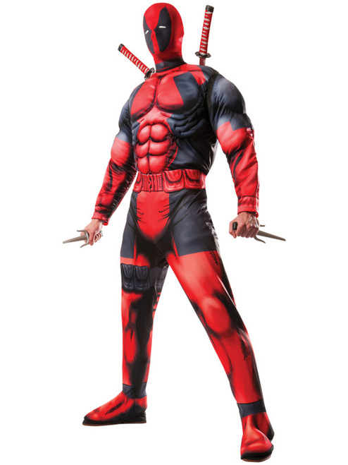 Adult Deluxe Deadpool Avengers 2 Costume