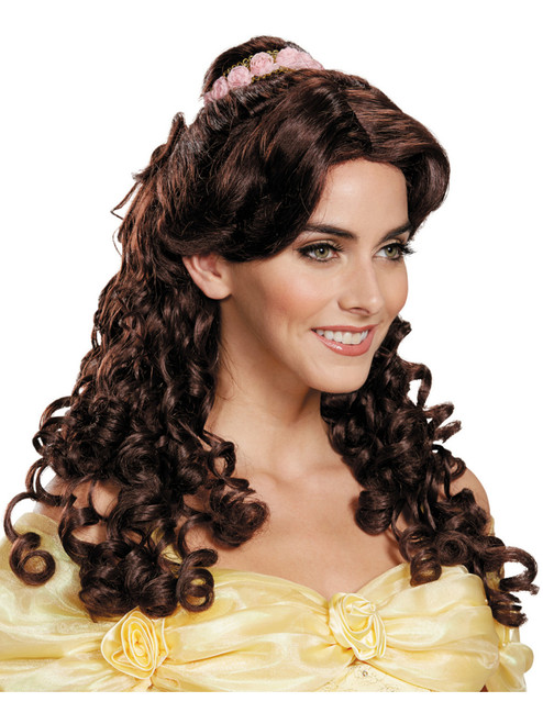 Adult S Belle Beauty And The Beast Wig