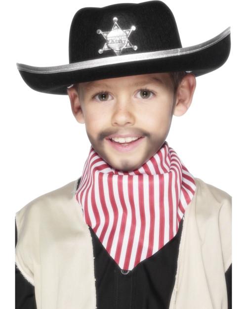 5ec09f9fd Kid's Black Western Sheriff Hat With Star