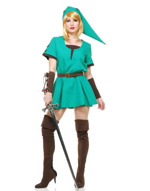 Halloween Costume 500.Women S Elf Warrior Princess Costume