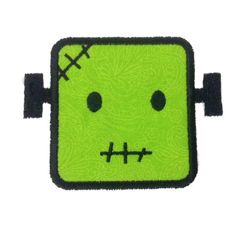 Frankenstein Applique Machine Embroidery Design